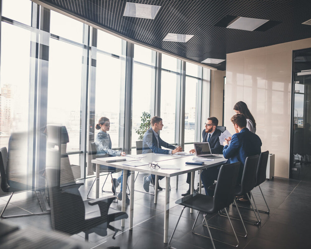 Corporate,Business,Team,And,Manager,In,A,Meeting